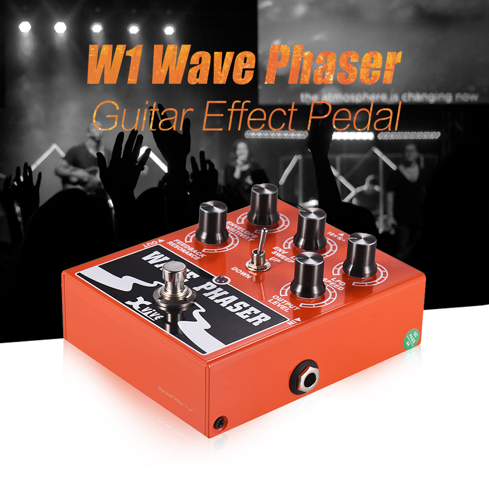 XVIVE W1 Wave Phaser Guitar Effect Pedal True Bypass Full Metal Shell-in Guitar Parts & Accessories from Sports & Entertainment    3