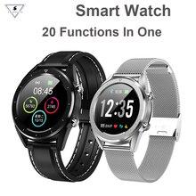Купить с кэшбэком Dt28 Sport  Ip68 Waterproof Smart Watch Man Woman Support Heart Rate Blood Pressure Monitor For Ios Android xiaomi Vivo Phone