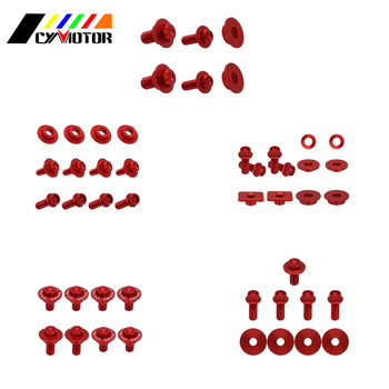 Dirt Bike Motocycle Plastic Body Parts Guard Screw Bolt For Honda crf250r 2004 2005 crf250x crf450x crf 250x 450x image