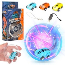 MJD R1 Hight Speed 360 Spin Mini Racer Car Stunt MJD88 Up To 25KM/H With Flashing Light Spining ZLRC