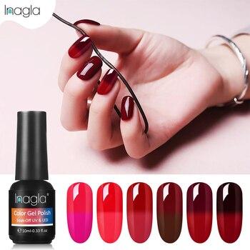 Inagla Nueva Moda 10ml Vino Rojo Temperatura Cambio De Color