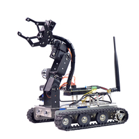Xiao R GFS DIY Wifi Robot Arm Car Metal Chassis for Arduino2560 Board