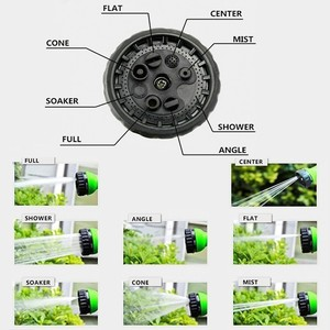 Image 4 - Hot Sale 25Ft 200Ft Expandable Garden Hose Magic Flexible Water Hose Eu Watering Hoses Pipe With Spray Gun,Car Wash
