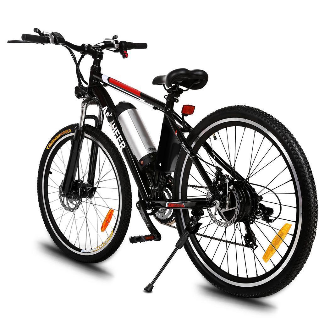 25 pouces VTT batterie voiture modifiée batterie au lithium vélo électrique frein à disque cyclomoteur frein à disque 21 vitesses nouveau vélo