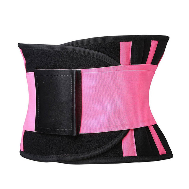 Fitness Sports Waist Support Belt Sweat Band Weight Loss Fat Burning Slimming Body Shaper Women Waist Trainer Trimmer Belts 4