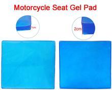 где купить 25*25*1/2cm Motorcycle Motorbike Seat Cushion DIY Passenger Soft Mat Touring Comfort Shock Absorption Blue по лучшей цене