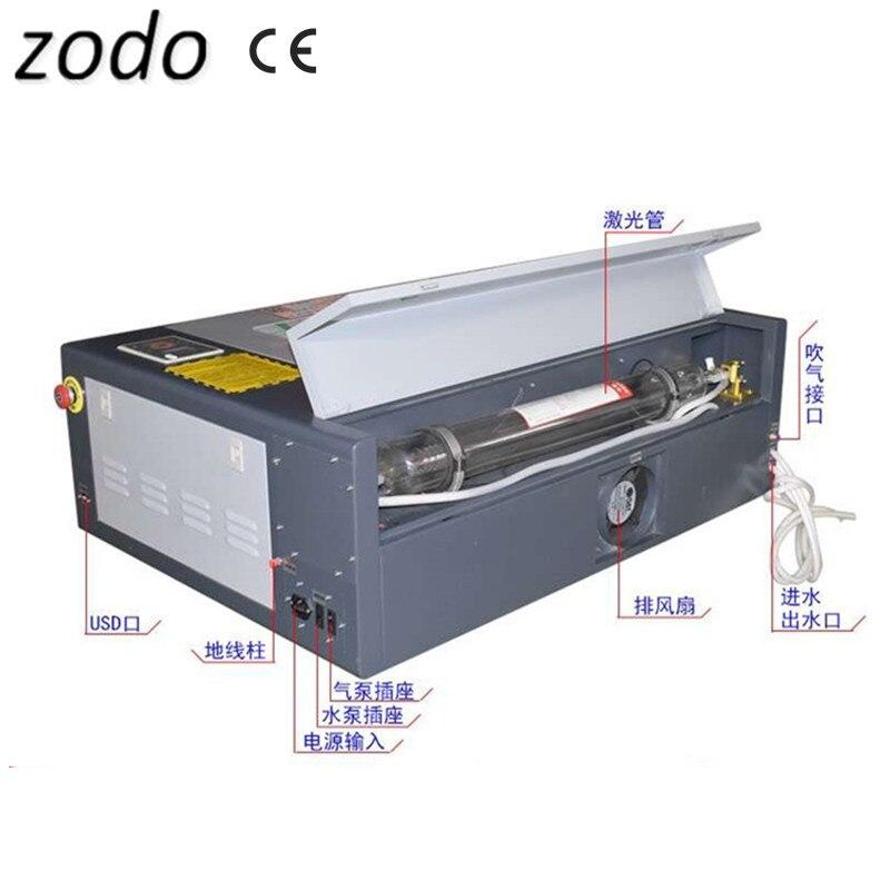 4060 CNC laser graveur cutter 60 w laser graveur mini ruida contrôleur sans électrique levage nid d'abeille table