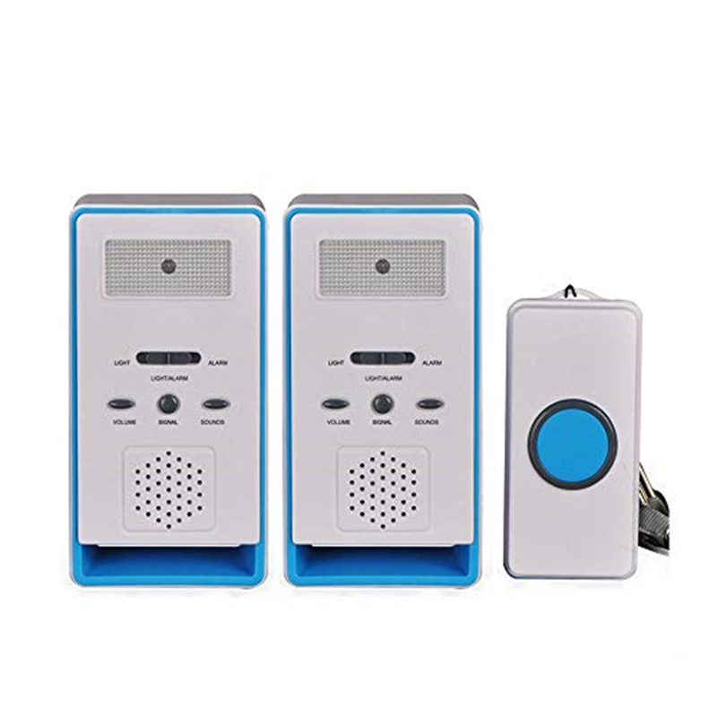 Home 2 In 1 Wireless Patient Emergency Care Pager Alert Call Button Elderly Monitor For Old People Or Sick PersonHome 2 In 1 Wireless Patient Emergency Care Pager Alert Call Button Elderly Monitor For Old People Or Sick Person
