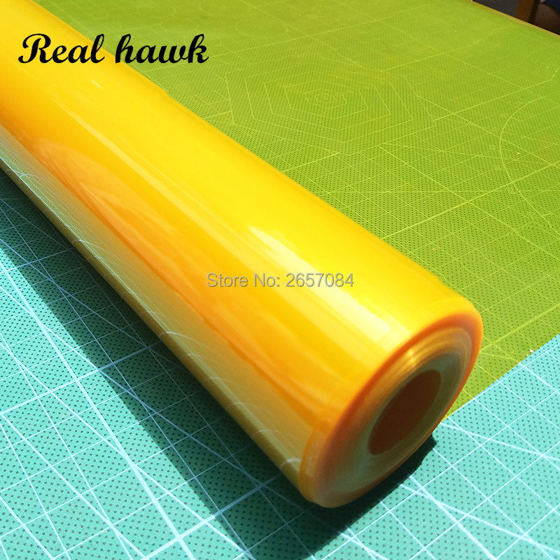 2Meters/Lot Tranparent Colors Hot Shrink Covering Film High Quality Model Film For RC Airplane Models DIY image