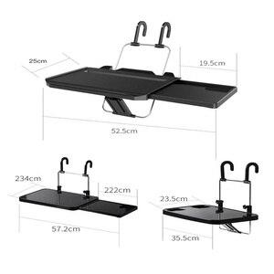 Image 2 - Multifunctional car Foldable Laptop Computer Stands Non Slip Gear Hook Hide Cup Holder Lap Desk Sofa Bed Reading Notebook Laptop