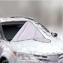 Новая Универсальная автомобильная, на магните, защита ветрового стекла, защита от солнца, снега, мороза, ветрового стекла