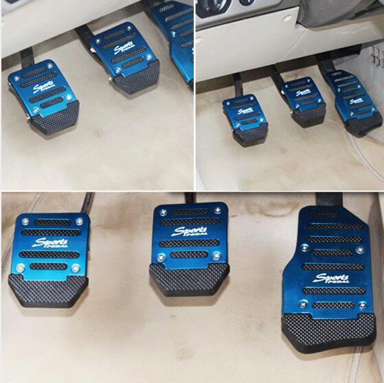 Car styling accelerator Brake Pedal Cover case For Suzuki SX4 SWIFT Alto Liane Grand Vitara Jimny Scross Splash Kizashi