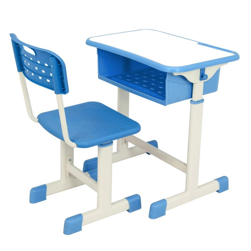 School Sets Furniture Children Set Of Tables And Chairs Household Study Writing Desk Lifted Combination Adjustable Corrective Sitting Posture Chair Invigorating Blood Circulation And Stopping Pains