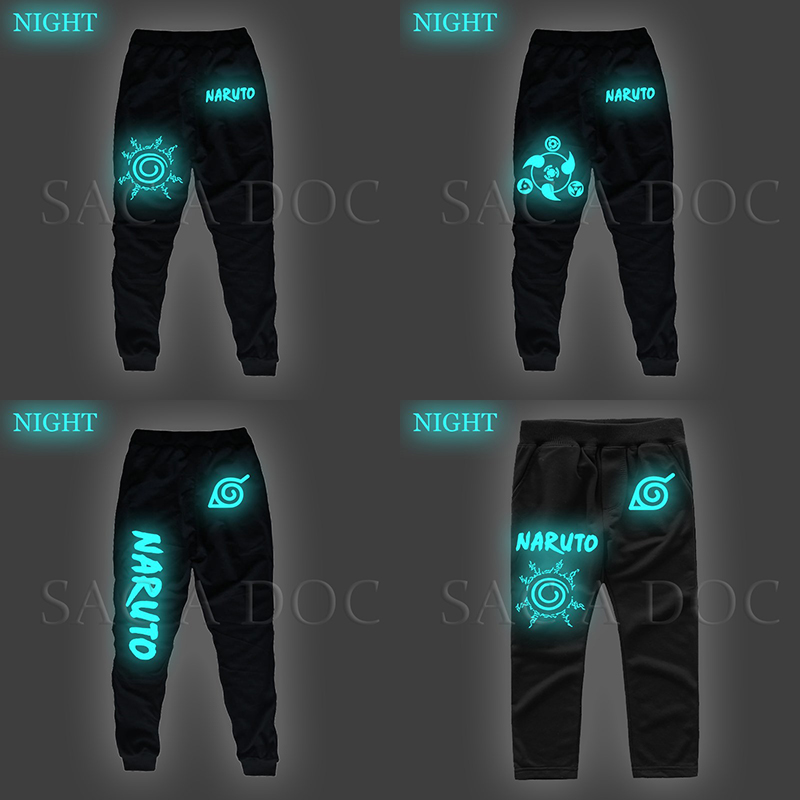 Harem-Pants Clothing Sportswear Casual Trousers Sharingan-Printed Autumn Winter Fashion