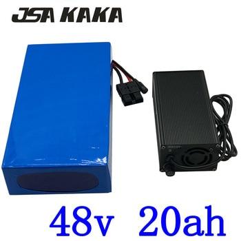 1000 W 2000 W 48 V 20AH elektrische fiets batterij 48 V 20AH ebike batterij 48 V Lithium ion batterij pack met 50A BMS + 54.6 V 5A charger-in Elektrische Fiets batterij van sport & Entertainment op