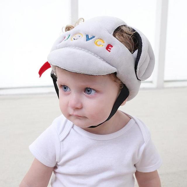 Защита от столкновений для младенцев, для малышей, мягкая шапка, защитный шлем для малышей, защита от падения головы, Защитный колпачок для п...