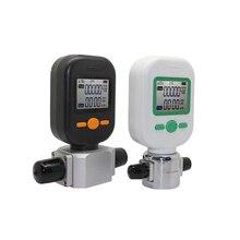 Medidores digitales de flujo de Gas, medidor de flujo de masa de Gas MF5706 (0 10L/25L) MF5712 (0 200L), medidor de flujo de Gas, pantalla Digital de aire comprimido