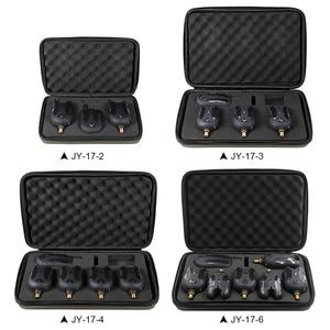 Image 2 - Lixada Fishing Bite Alarms Set 2/3/4/6 Wireless Digital  Fishing Receiver Sound Alert Kit Led Alarm Indicator with Case