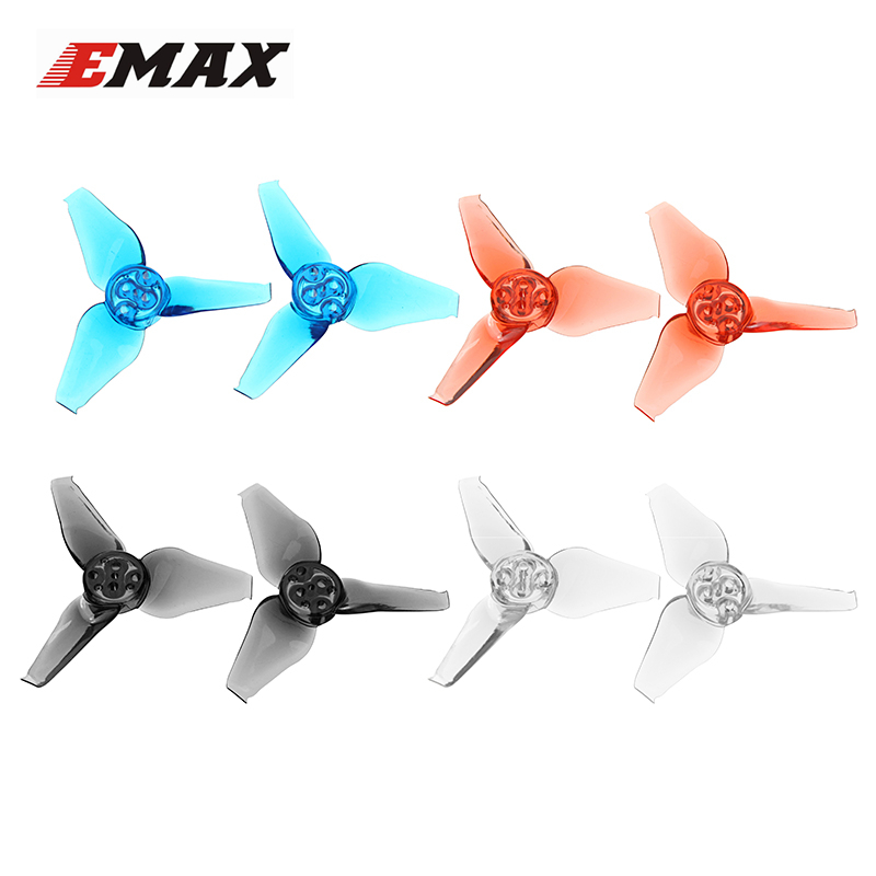 6 Pairs Emax AVAN Babyhawk 2.3 Inch 2.3x2.7x3 3-blade RC Drone FPV Racing Propeller CW CCW Multicopter Spare Parts Accessories