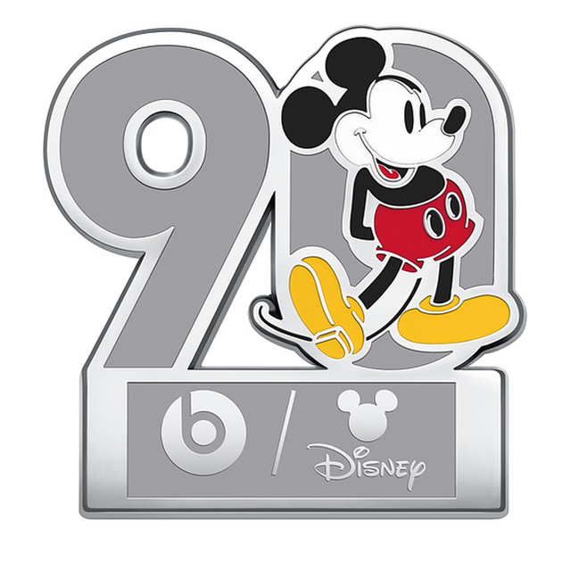 Beats Solo3 Wireless Bluetooth Headphones On Ear Headset Music Hands-free with Mic Mickey's 90th Anniversary Edition