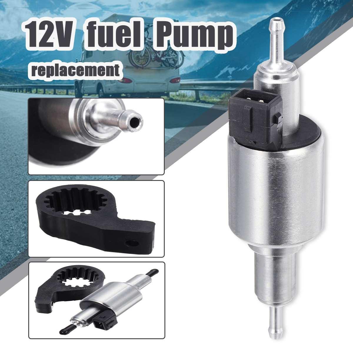 Universal Car Air Parking Heater Oil Fuel Pump 12V//24V Pulse Metering Gas Inline Electric Fuel Pump Kit Heater Pump for 2-5KW Webasto Eberspacher