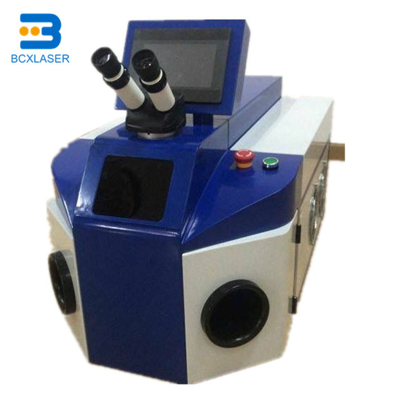 Water Cooling Mode Laser Welding Application Accurate Spot Welding Machine For Jewelry