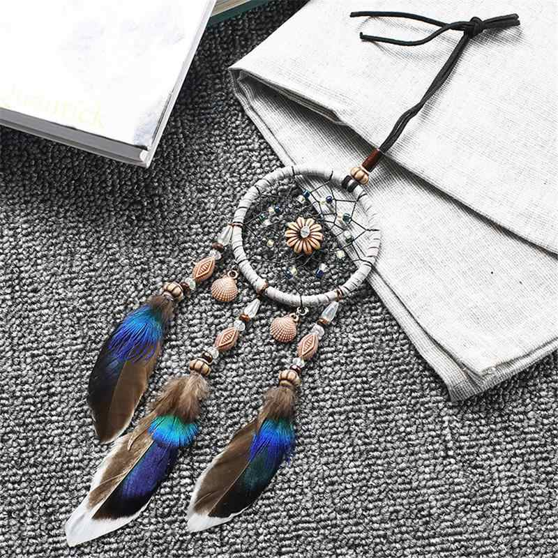 Car Pendant Festival Birthday Gift Home Decoration Manual Dream Catcher Wind Chimes Indian Style Pendant Wall Hanging #BW