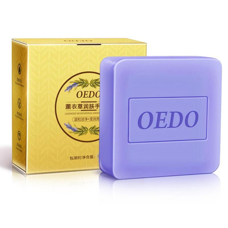 1 Pc Lavendel Extrakt Feuchtigkeitsspendende Handgemachte Seife Tiefen Reinigung Erhellen Haut Ton Gesicht Pflege Verbessern Die Poren Bad & Dusche Seife