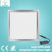 12W LED Integrated Panel Light AC85 265V Ultra thin Aluminum Ceiling Lamp 300*300 Cold White for Indoor Home Office Lighting
