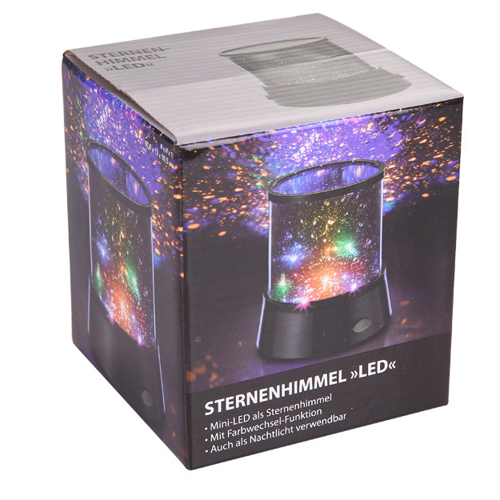 Image 5 - LED Night Light Projector Starry Sky Star Moon Round Stage Light Kids Sleep Romantic Colorful Led USB Lamp For Bedside Bedroom-in Night Lights from Lights & Lighting