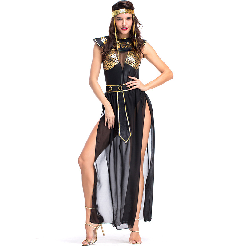 Queen Egyptian Cleopatra Costume Women Costumes For Adults Sexy Cosplay Halloween
