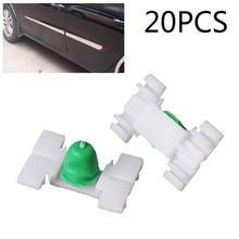20x araba dış kapı çamurluk kalıp Trim klip BMW E36 E46 323 325 328 330 araba dış kapı çamurluk trim klip