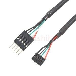 Image 4 - Mini Mhoterboard USB Cavo Dupont 2.0 millimetri Distanza 5Pin Femmina a 2.54 millimetri 5Pin Maschio per Scheda Madre Industriale 30 centimetri