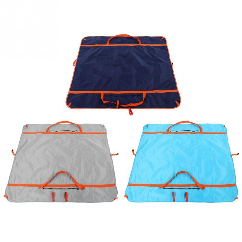 Multifunction Waterpoof Travel Storage Bag Picnic Blanket Camping Pad Beach Mat Blanket Sleeping Pad Blanket Luggage Yoga Bag