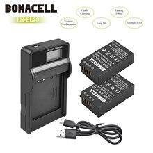 Bonacell 7.2V 1300mAh EN EL20 EN EL20 ENEL20 Camera Battery+LCD Charger For Nikon EN EL20a 1 J1 J2 J3 S1 Digital Camera L10