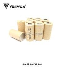 Subc Cells ni-mh аккумуляторная батарея 1,2 V SC 2500mAh DIY до 9,6 V 12V 14,4 V 18V 24V Электроинструмент электрические аккумуляторы