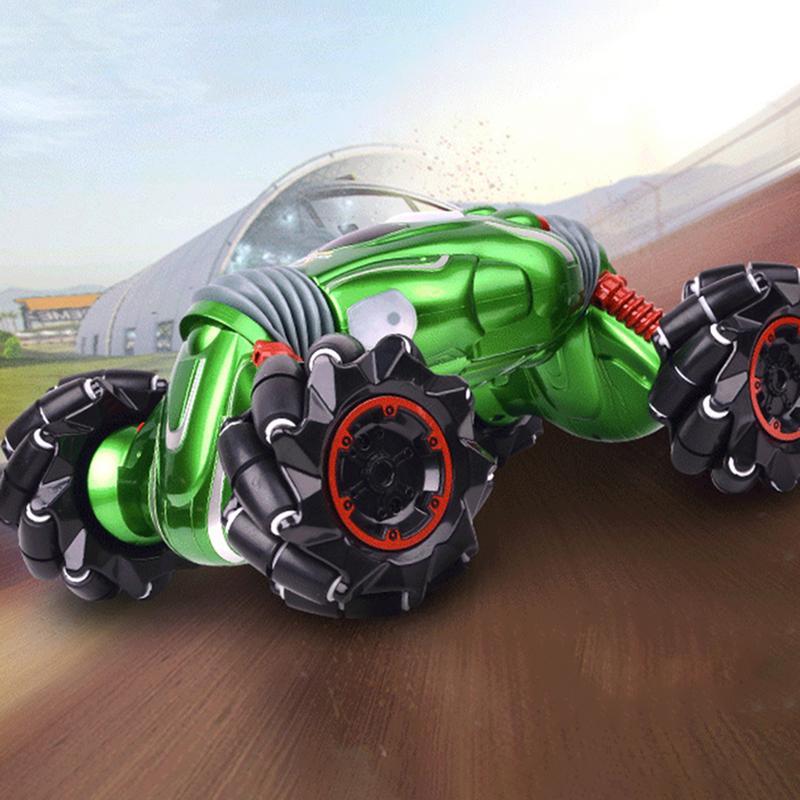 Afstandsbediening Twisted Auto 99002 Fourwheel Drive Klimmen Stunt Auto Lichte Muziek Elektrische Dubbelzijdig Speciale Effecten Speelgoed Stunt Wees Onthouden In Geldzaken