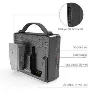 Image 4 - Smatree, baterías portátiles para DJI Mavic 2 Pro, estación de carga Compatible con carga simultánea de dos Mavic 2 Zoom