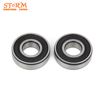 Motorcycle Wheel Hub Roller Bearings 6001 RS For KTM Suzuki 50 JR MINI SR ADVENTURE SX PRO RM125 RM250 RM465 RM500 image