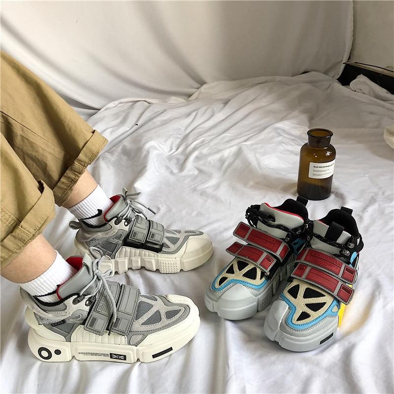 Vintage papa hommes Joker chaussures Kanye mode West Mesh léger respirant hommes chaussures décontractées hommes Tenis baskets Zapatos Hombre #700