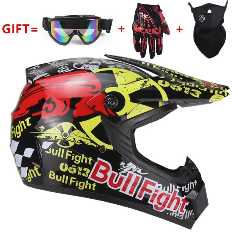 Alta Qualidade do capacete Da Motocicleta capacete de Proteção da motocicleta para Mulheres & Homens off road motocross Capacetes DOT aprovado