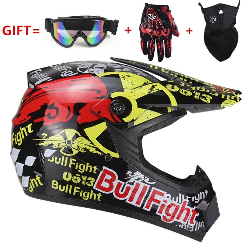 Casque de moto de haute qualité capacete de protection moto pour femmes et hommes hors route casques de motocross DOT approuvé