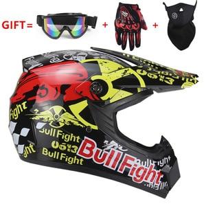 Image 1 - 高品質オートバイヘルメット保護 capacete オートバイ女性 & 男性オフロードモトクロスヘルメット承認