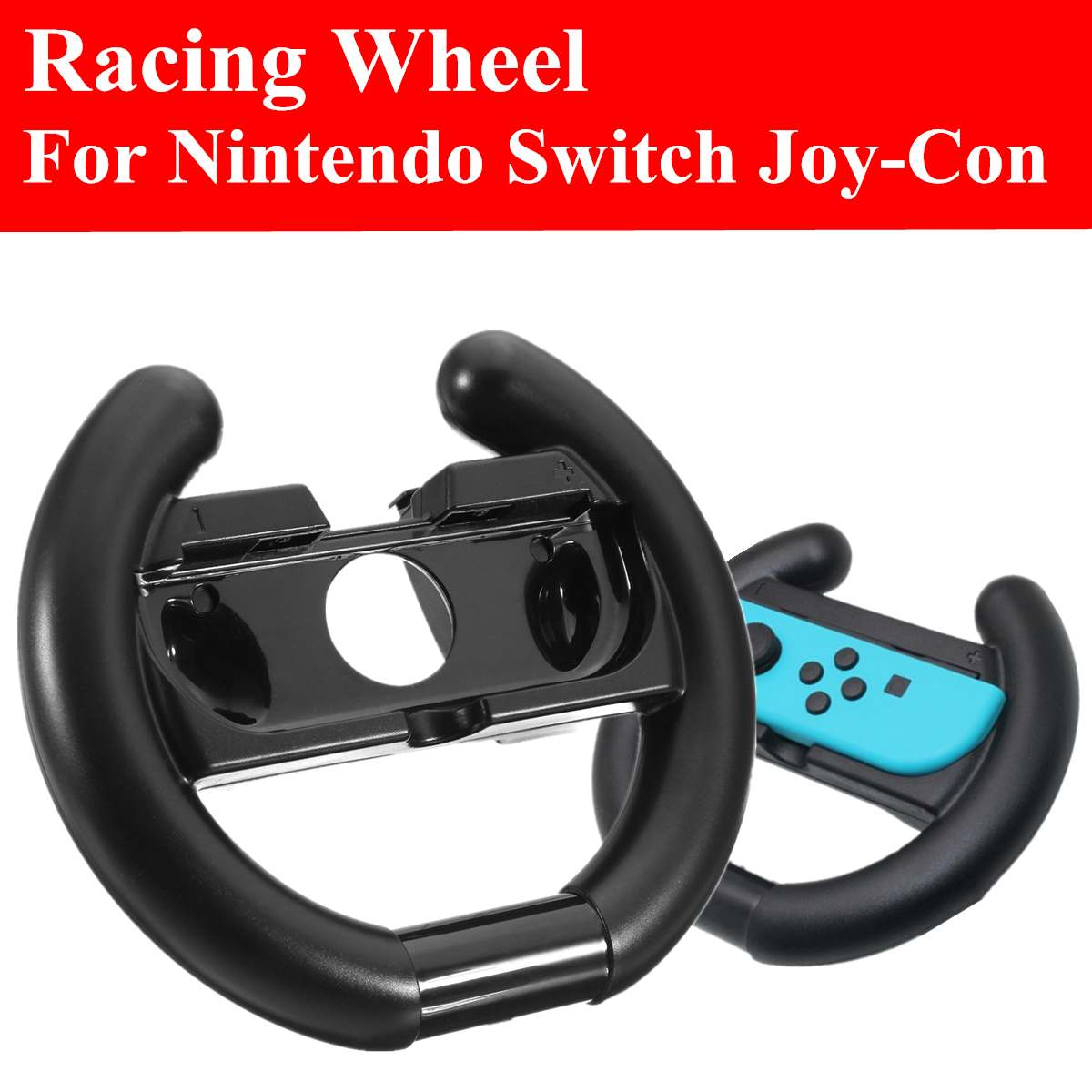 Direction Steering Wheel Hand Grip Handle For Nintend Switch Joy-co Console NS Controller Gamepads Video Racing Games Wheels