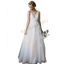 Sod Wedding Dress 2019 White Ivory Bride Dress Backless