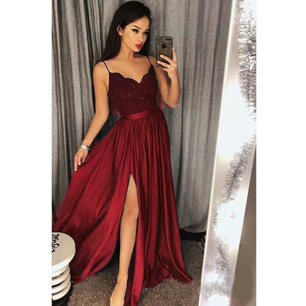2020 Vintage Women Stretch High Waist Plain Skater Flared Pleated Solid Long Skirt