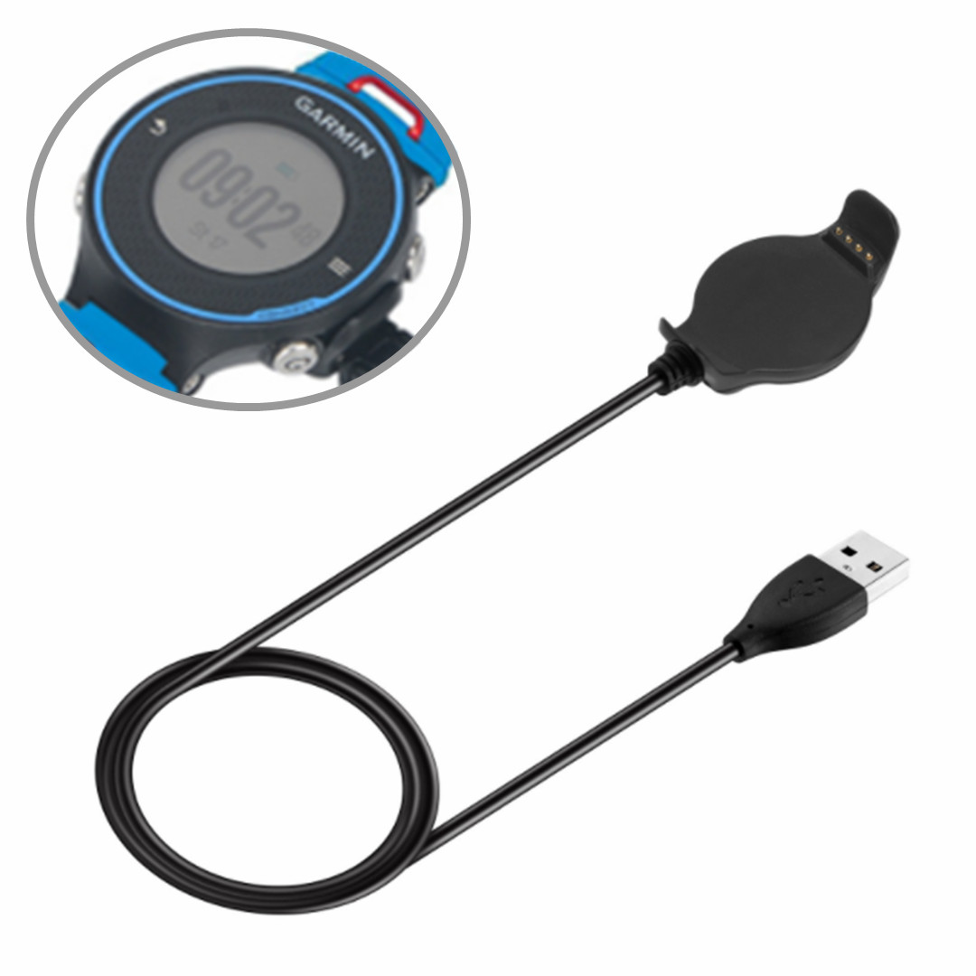 1Pcs Outdoor Portable Tool Smart Watch Fast Charger USB Data Sync Cable For Garmin Forerunner 620 Watch For Camping Hiking Tools|Outdoor Tools| |  - title=