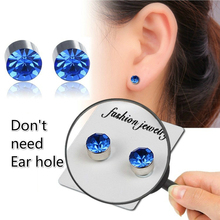 2019 Magnetic Stud Slimming Earrings for women men Slimming Patch Lose Weight Health Jewelry Lazy Paste Slim Patch earring