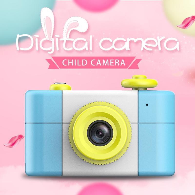 REMAX Cartoon 1.5 pouces 2MP 1080 P enfants bébé caméra numérique caméscope (bleu)