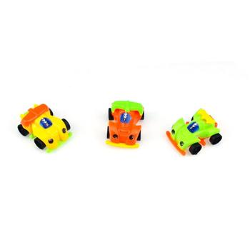DIY Assembled Cartoon Four-Wheel Drive Car Capsule Toy Kids Educational Toy Random Color Capsule Toy Kids Educational Toy image